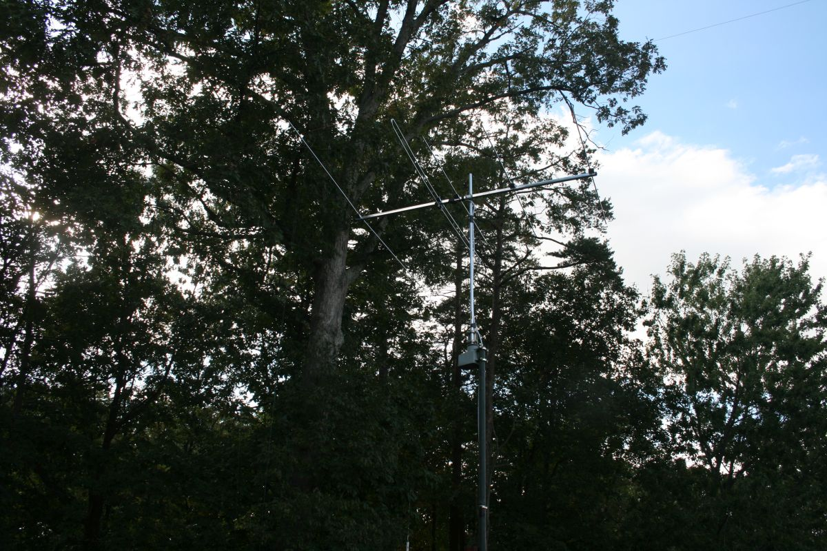 Antenna in final position